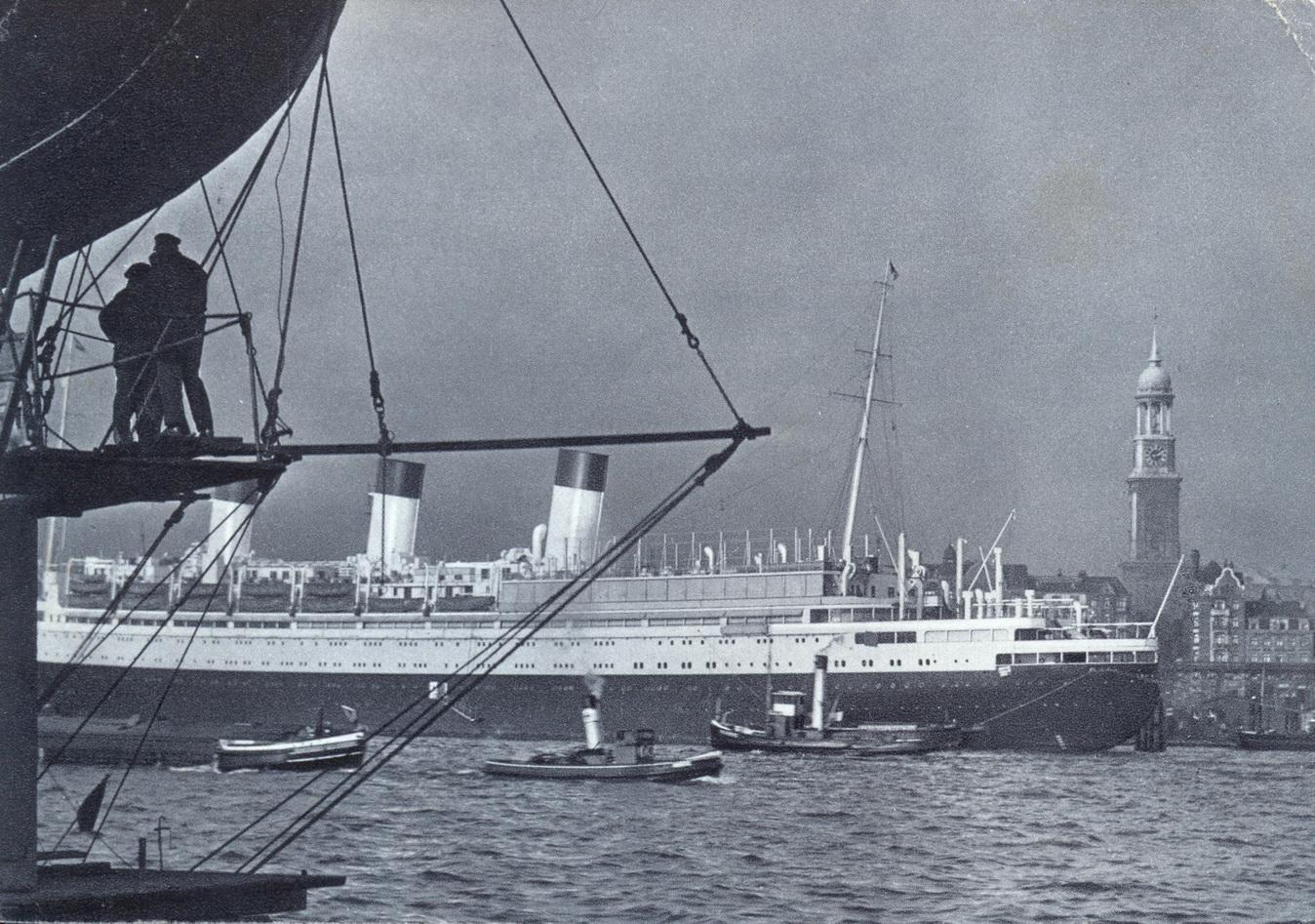 Hamburger Hafen um 1939